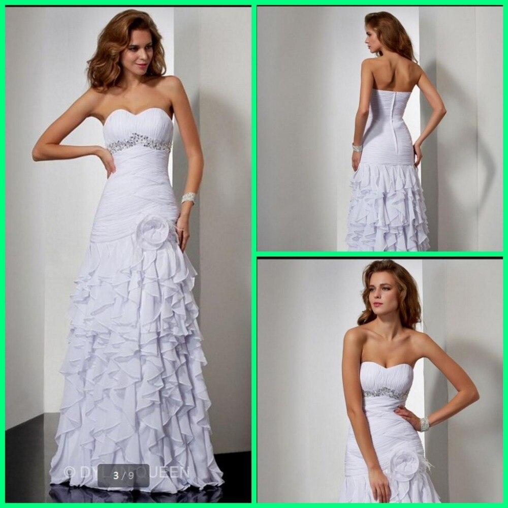 2016 nouveau design en mousseline de soie à volants robe de soirée sans bretelles chérie cou étage longueur chérie cou plume robes de soirée