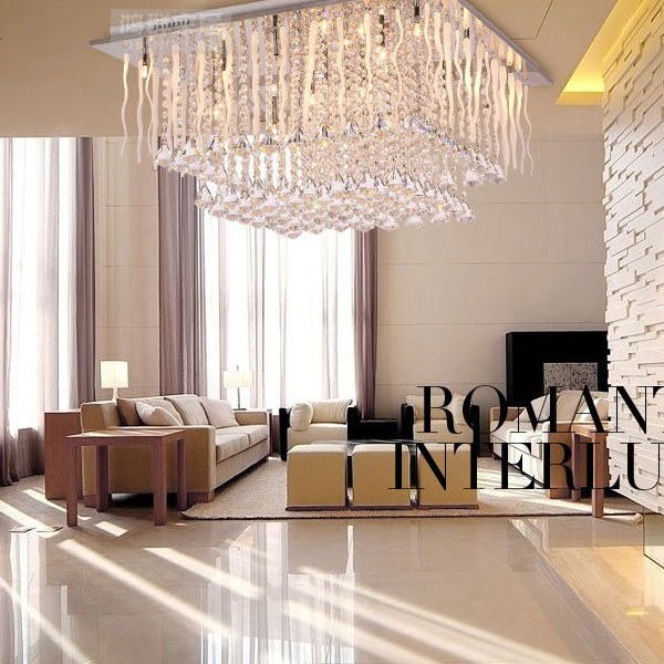 Hanging Ceiling Lights For Living Room India Best Sage Green Paint Color Austrian Crystal Lamp Lighting Lamps And Luxury K9 A Decorative