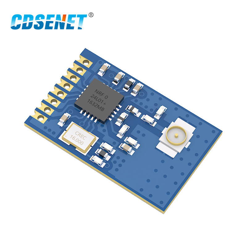 2.4GHz nRF24L01+ PA LNA CDSENET E01-ML01IPX Wireless rf Module 2.4 Ghz Transceiver SPI rf Transmitter and Receiver nRF24L01P image
