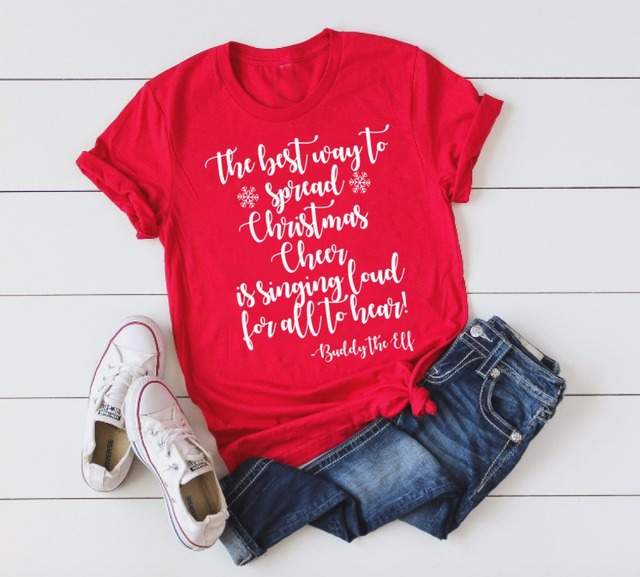 Best way to spread christmas cheer shirt Women s Ugly Christmas funny  graphic red aesthetic funny fashion tumblr t-shirt tee top 344bf90baaf6