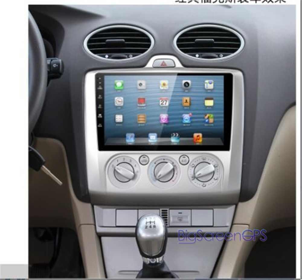 سيارة 9 بوصة أندرويد 2din لفورد فوكس 2006-2017 رباعية النواة لتحديد المواقع والملاحة واي فاي كاميرا DVR مشغل ديفيدي شاشة عمودية سيارة ريديو