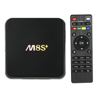 M8S + Android 5.1 TV Box M8S Più Amlogic S812 Quad Core 2 GB/8 GB 2.4G & 5G Wifi H.265 HEVC Gigabit Lan Bluetooth 4.0 KODI Intelligente tv
