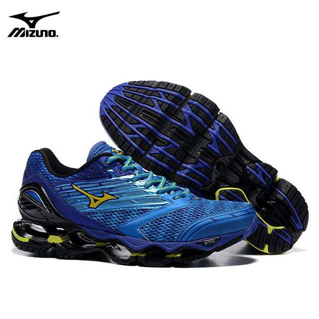 the latest 40bb3 b5322 MIZUNO WAVE Prophecy 5 Professional Men Running Shoes Royal blue sneakers  Weight lifting Shoes basketball shoes Size 40-45