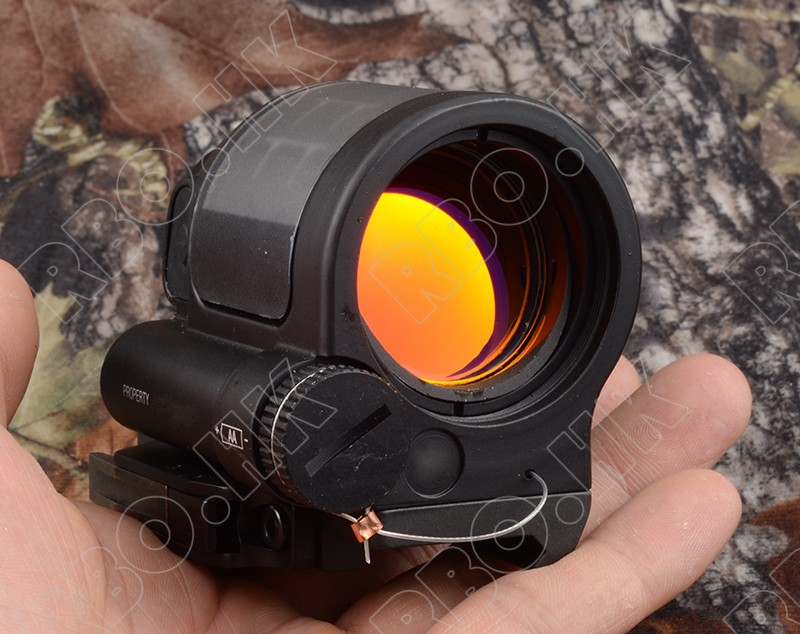 Solar Power 1x Red Dot sight scope for qd picatinny rail mount hunitng shooting black M2316 mini rmr style 1x red dot sight scope for picatinny rail and glock base mount key switch 6 moa black m6293