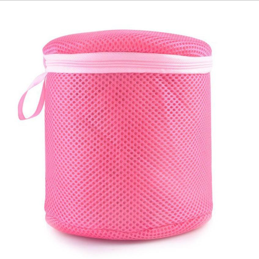 Women Bra Laundry Lingerie Washing Hosiery Saver Protect health Mesh Round Bag A18