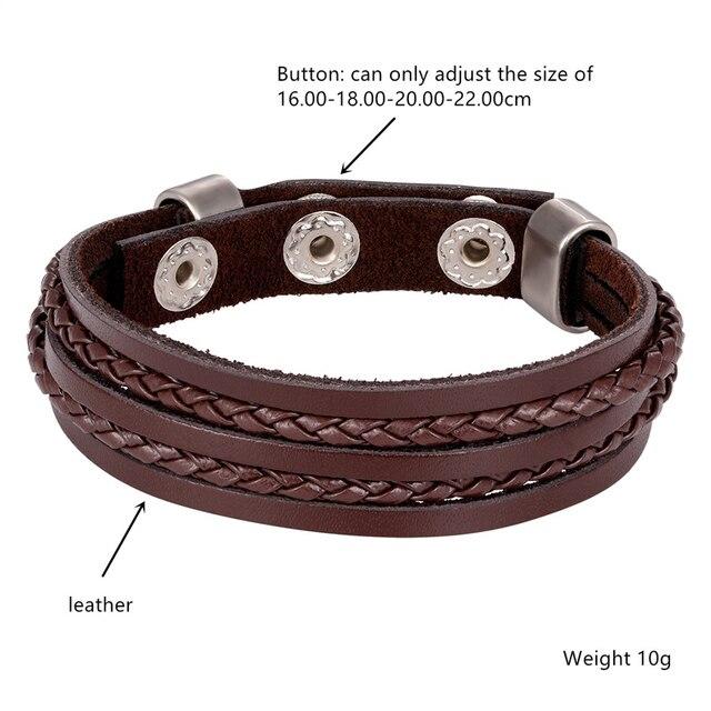 Фото новый модный мужской браслет из сплава с магнитной пряжкой высококачественный