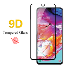 Full Cover Protective Film Tempered Glass For Samsung A8 A9 Star A90 lite