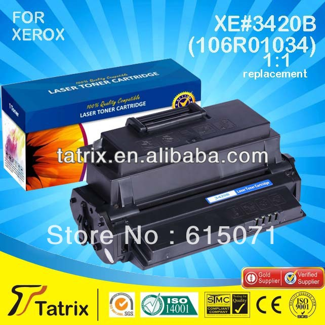 ФОТО FREE DHL MAIL SHIPPING. For Xerox 106R01034 Toner Cartridge ,Compatible 106R01034 Toner