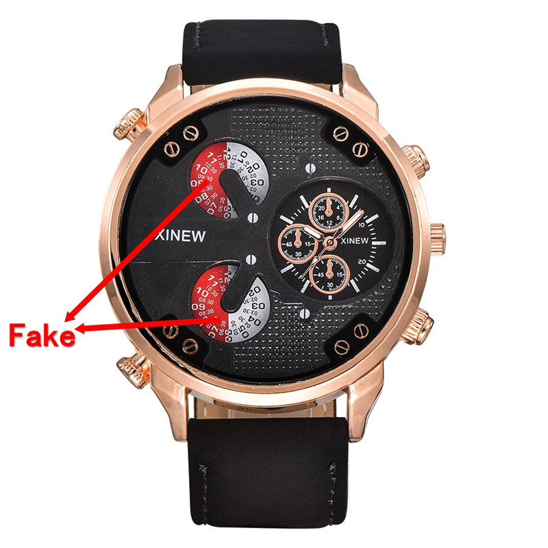 2017 Fashion Luxury Mens leather watchAviator White Automatic Mechanical Date Day Leather Wrist Watch blue shope 30%