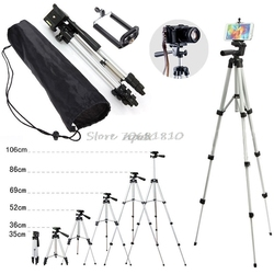 Professional Camera Tripod Stand Holder Mount For iPhone Samsung Cell Phone +Bag Whosale&Dropship