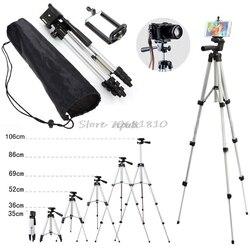 Soporte profesional para trípode de cámara para teléfono móvil iPhone Samsung + bolsa al por mayor y Dropship