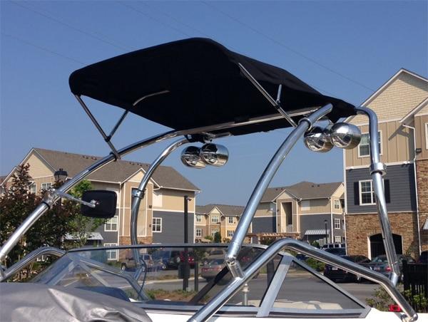 Origin OWT-TBMI wakeboard tower bimini- 1870 version & Black canopy