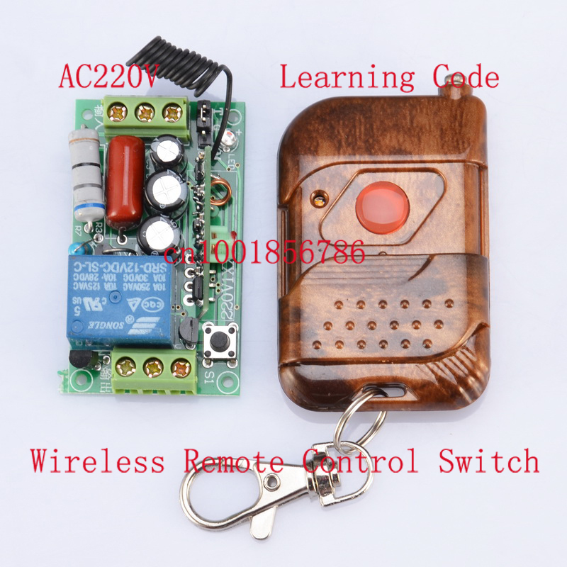 220V 1CH 10A M4/L4/T4 Change by Jumper 1000W Waterproof Remote Light Switch Latched Wireless Power Switch Receiver&Transmitter change translated by howard goldblatt