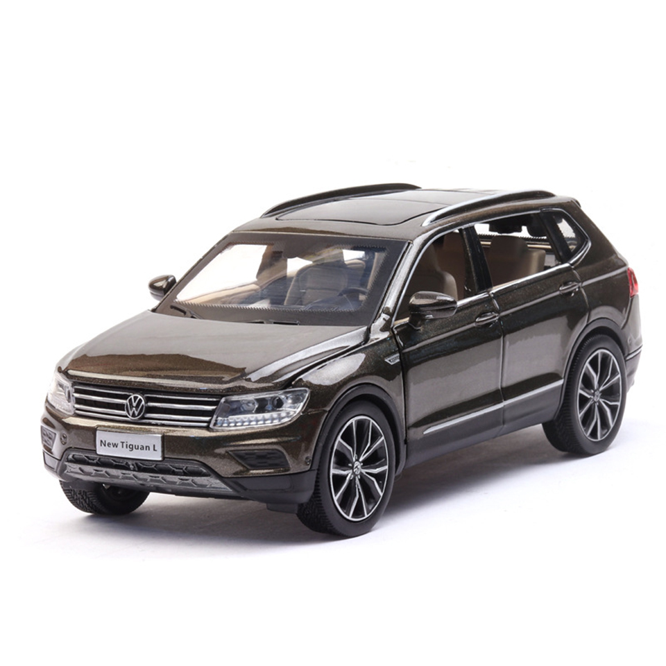 1:32 Tiguan L Machine Diecasts Toy Vehicles Hot Wheel Car Model With Car Hot Wheel Doors Can Be Opened Toy