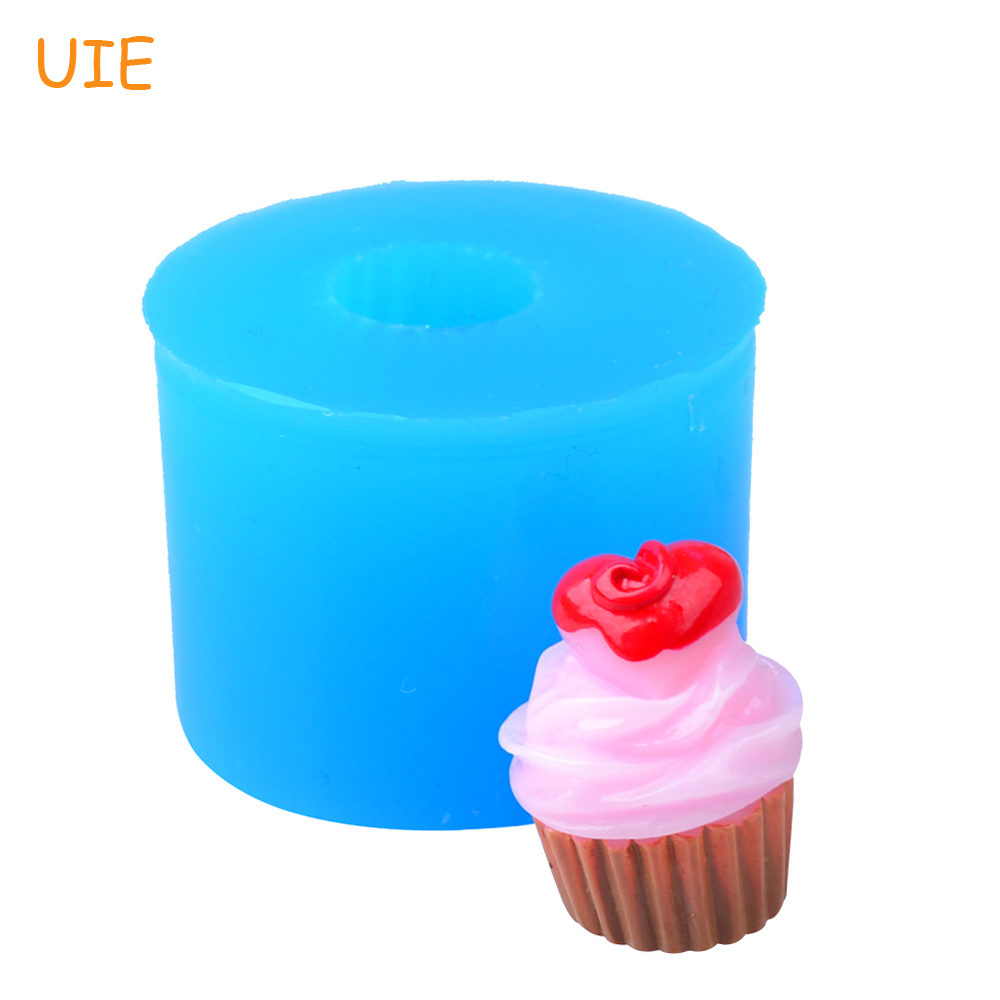 Fondant Resin Clay Kitchen Baking Tools For Dessert Oven Safe Supplement The Vital Energy And Nourish Yin Symbol Of The Brand Xyl208u 19.2mm 3d Cupcake Silicone Mold Candy Sugarcraft