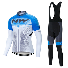 2019 NW cycling jersey Long Sleeve Cycling Jerseys clothing bicycle Team bike sets