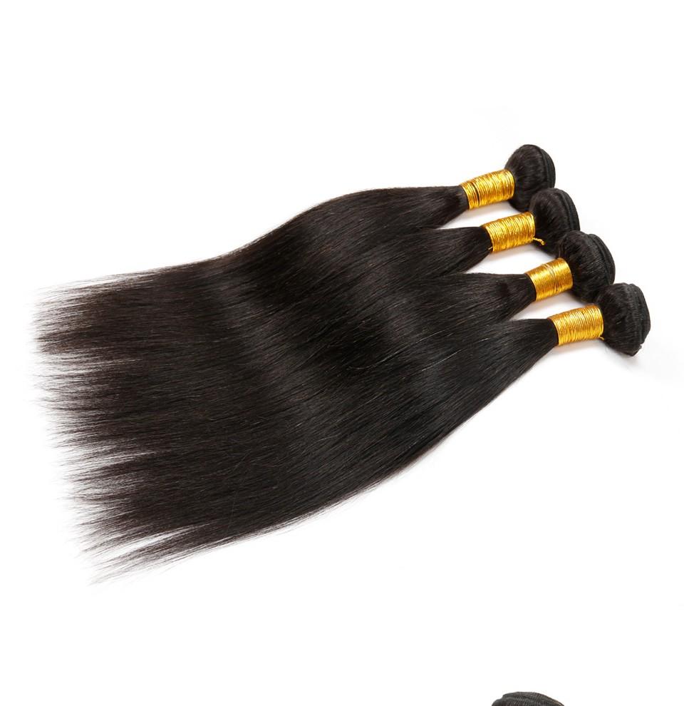 Brazilian Virgin Hair Straight 4 Bundles (5)