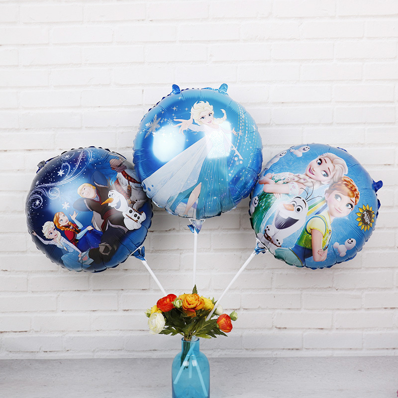 18inch disney princess foil balloons 1pc frozen elsa anna helium globos baby shower birthday party decorations kids love toys - Elsa Christmas Decoration
