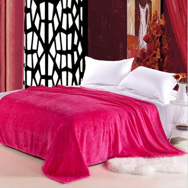 b688863c91a2 Nantong plain embossed gold mink blanket thicker Jianhua Phalle bedding  down blankets wholesale supply