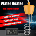 Voor Bad Zwembad 2500 w 220 v Drijvende Boiler Element met Thermometer Roest-proof Corrosiebestendig Veiligheid