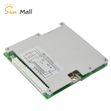 цены New arrival 17S 60V Lithium battery protection board 50A high current board Balanced light Same port BMS Power Battery
