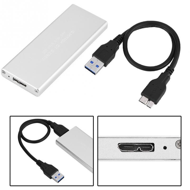 USB3.0 к M.2 NGFF SSD жесткий диск корпус 120 г золото ...