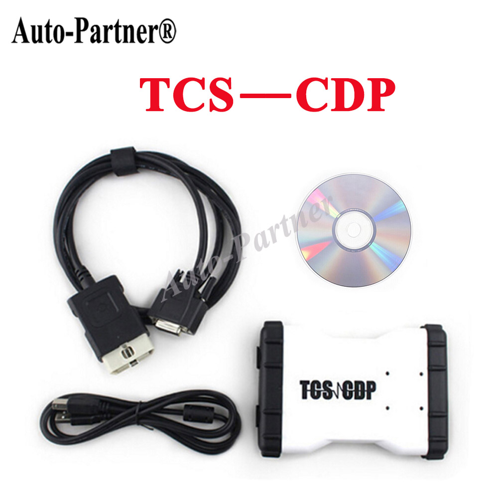TCS CDP pro Plus with 2014 R2 software Diagnostic font b tools b font led cable