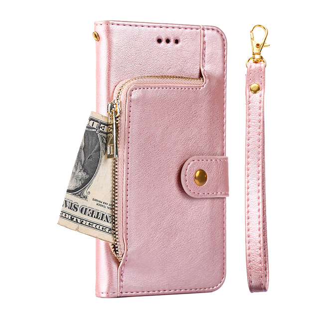Leather Phone Case For Samsung Galaxy A3 A5 A7 2016 J3 J5 J7 Neo 2017 J5 J7 J2 Prime J4 A8 A6 2018 S9 S10 Plus Flip Wallet Cover 5