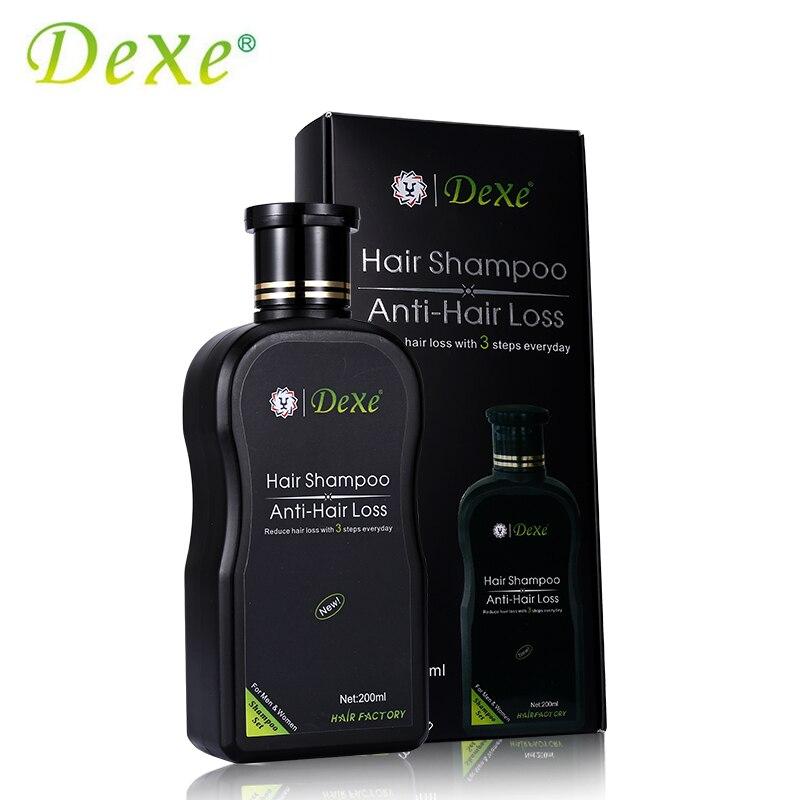 200ml Dexe Hair Shampoo Set Anti-hair Loss Chinese Herbal Ha