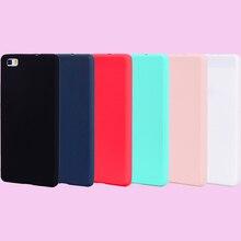 Fashion Candy Colors Soft TPU Case Phone Silicone Cover Shell Coque Fundas for Huawei P8 Lite 2017 P9 P9Lite P10 P10Lite Funda