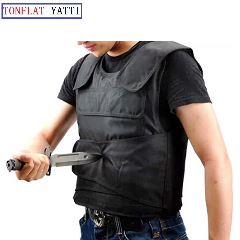 Stab Cut Self Defense Vest Soft And Thin Inside Vest 2019 New Anti-thorn Soft Material Exclusive Research And Development Safety