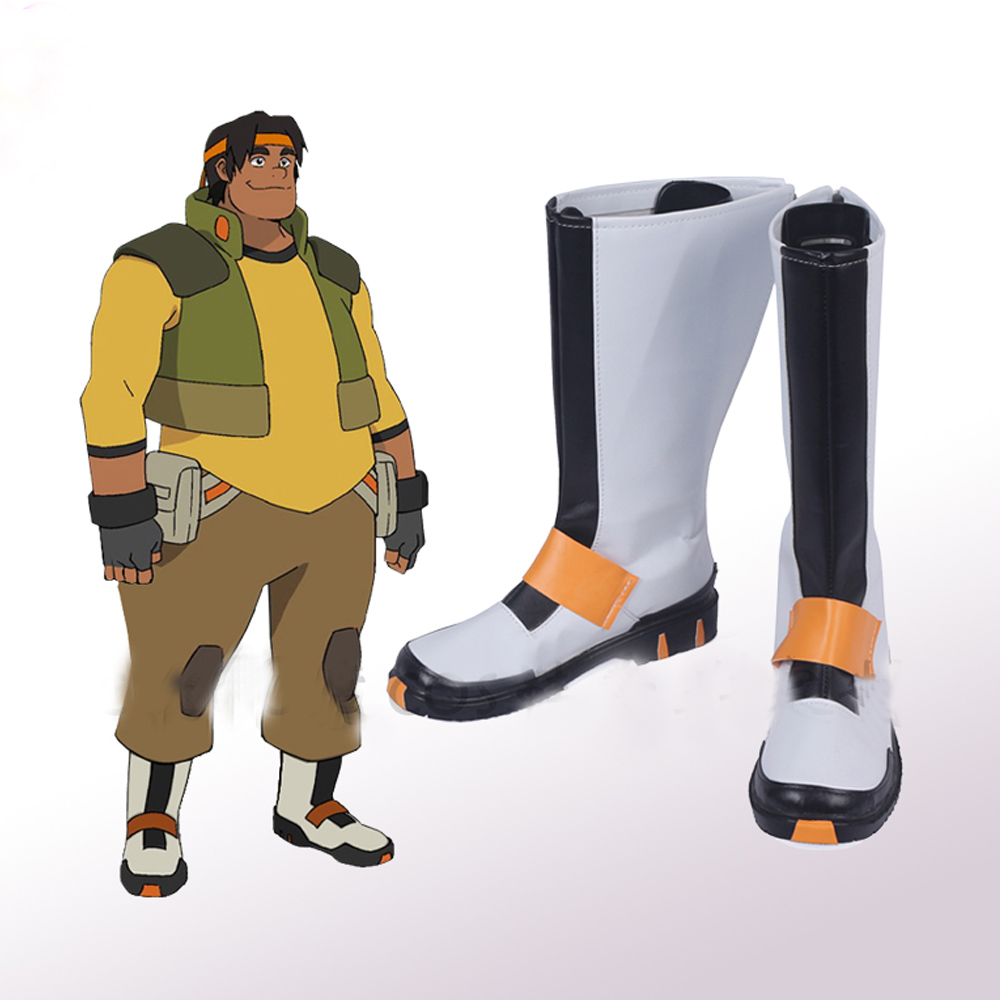 Voltron: Legendary Defender Hunk Cosplay Shoes Boots Superhero Halloween Carnival Party Costume Accessories