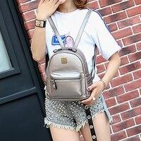 SUQI New Backpack Leisure Mini Women Backpack Student School Bag Rucksack Backpack For Women Preppy Style