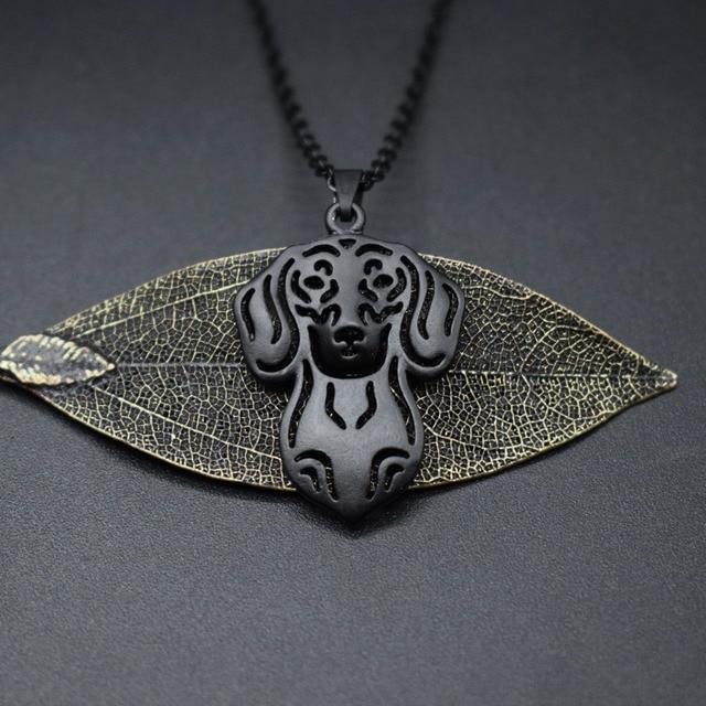 Dog Pendant Necklace 1