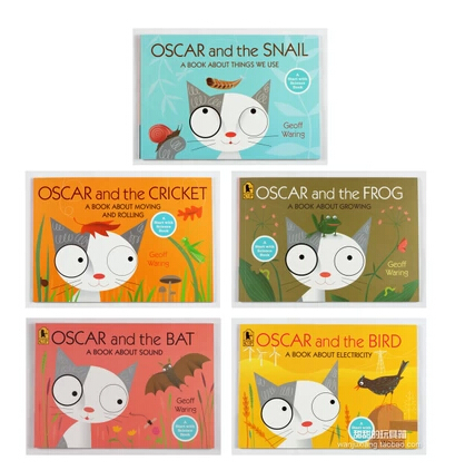 Geoff Waring Learning Education Books 5 Books In All Oscar Cat