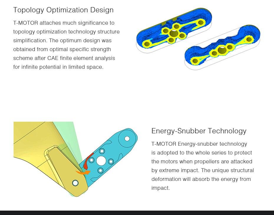 Carbono para rc multi rotores VTOL