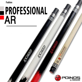 2018 New Arrival Pool Cues Stick 9.5mm/11.5mm/13mm Tips Billiard Stick Red/White /Black Color China