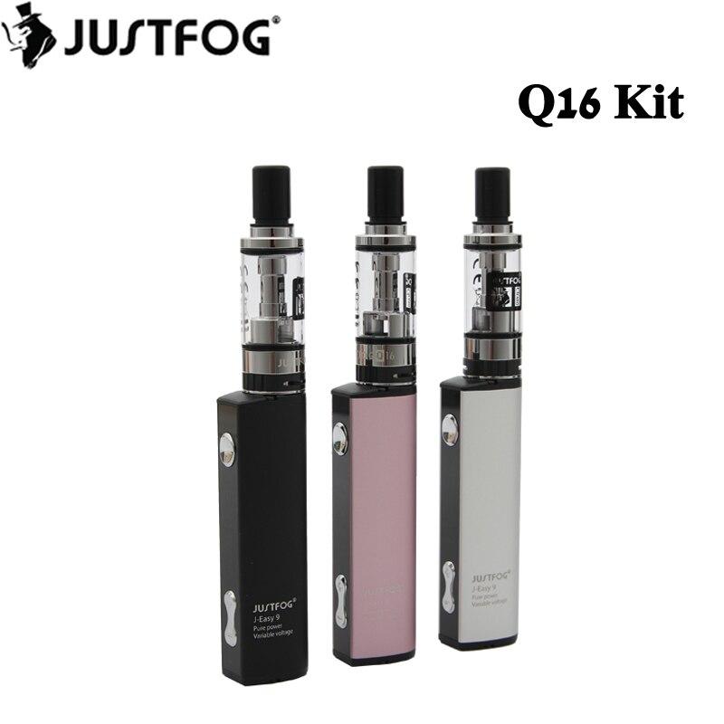 Original Justfog Q16 Starter Kit 900mah Battery With 1.9ml Q16 Clearomizer Tank Electronic Cigarette Vape Pen Vaporizer Kit #2