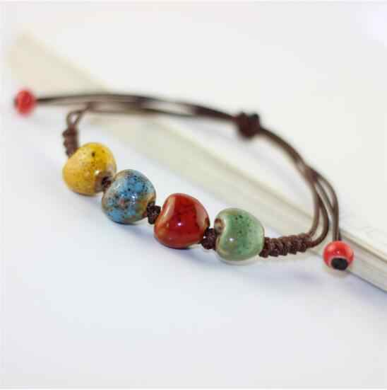 Горячие ювелирные изделия оптом керамические любящие браслеты для женщин аксессуары браслеты и браслеты vitage ювелирные изделия лучший подарок простой стиль