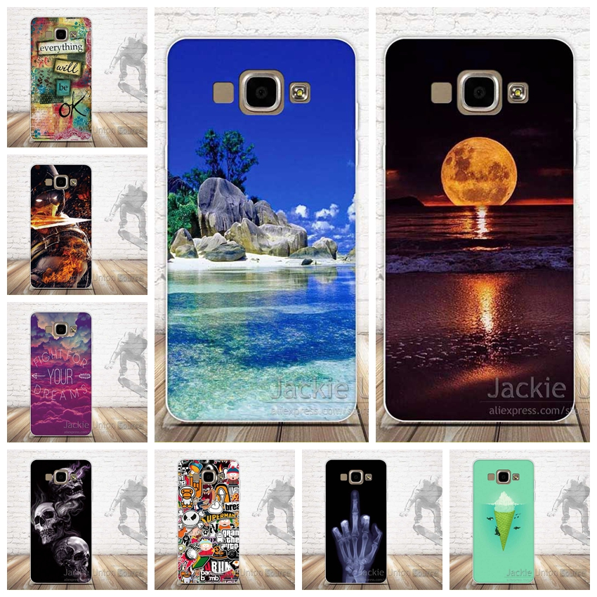 Soft Silicone Capa FOR Coque Samsung Galaxy A5 2015 Case Cover A500 A5000 Phone Protective FOR