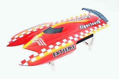 Fiber Glass E22 Catamaran 2550KV Brushless 90A ESC Electric RC Racing Boat PNP