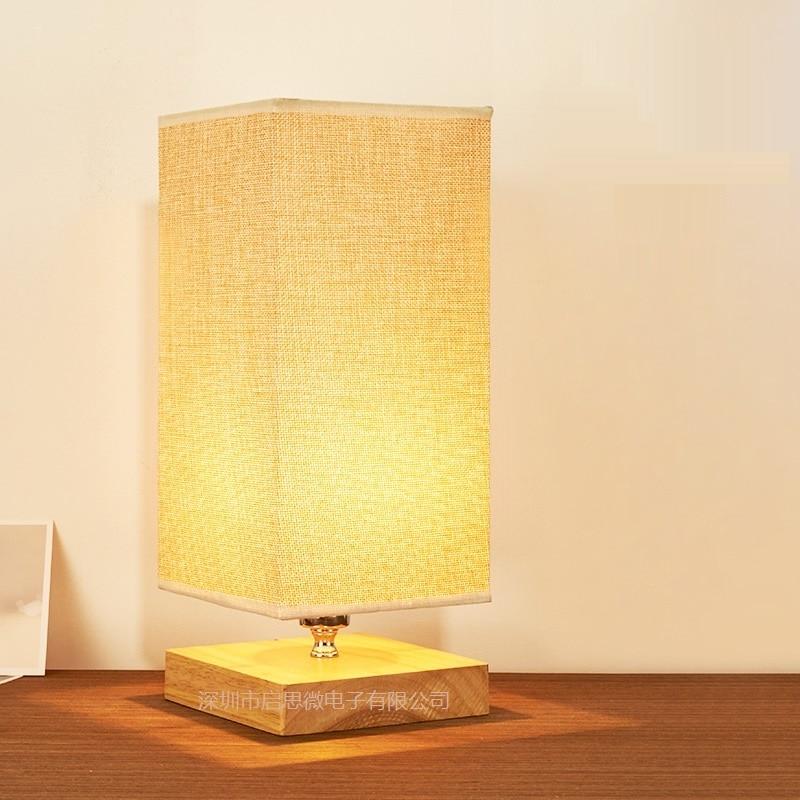 ФОТО New Creative Fashion Modern original wooden table light E14 AC 110V/220V table lamp bedroom bedside home decoration lighting