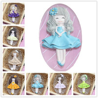 Fairy Girl 3D Silicone Soap Mold Craft Molds DIY Handmade Soap Molds Diy Soap Base Silica