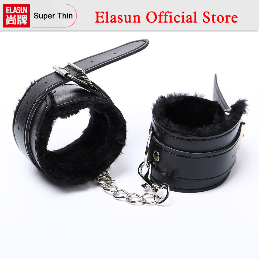 1 pair Black Soft PU Leather Handcuffs Restraints Sex Bondage Sex Products Ankle Cuffs Bondage Slave Sex Toys for Couple1 pair Black Soft PU Leather Handcuffs Restraints Sex Bondage Sex Products Ankle Cuffs Bondage Slave Sex Toys for Couple