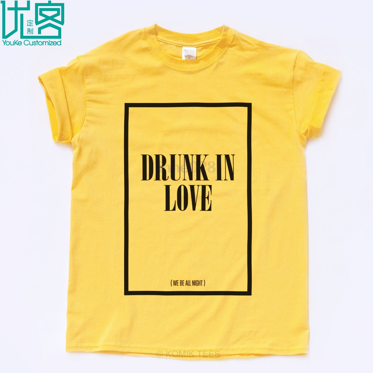 DRUNK IN LOVE FLAWLESS T SHIRT Beyonce Surfboard Swag Jay Z Illuminati Music Top image