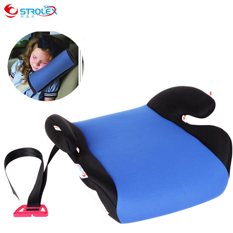 Strolex Portable Child Car Vehicle Safety Booster Cushion Seat for Kids Safety Belt Harness Baby Booster Seat 3-12 Y