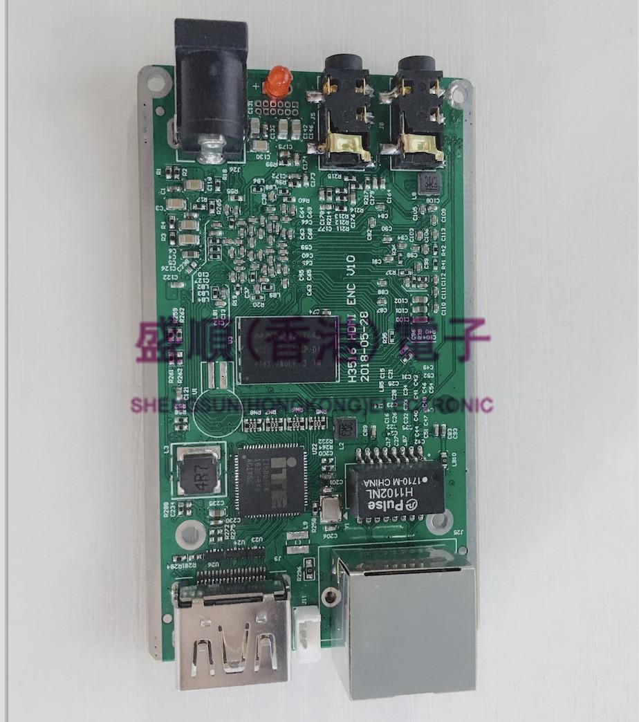 Hi3516a Development Board 1080P60hdmi Acquisition HDMI Live HDMI Encoder RTMP Live Streaming Device
