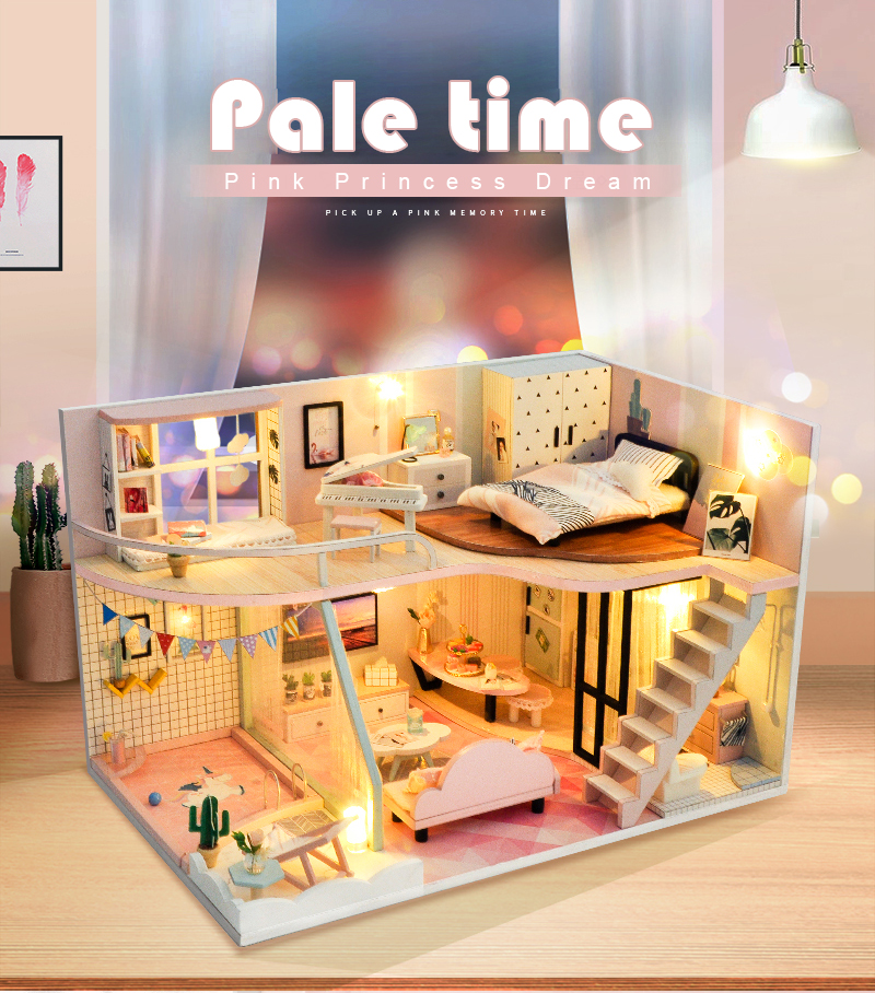 Pale Time DIY Miniature Loft Kit (TD30-C)