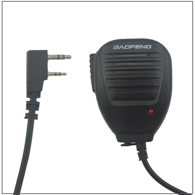 BAOFENG Mic Speaker Microphone For Baofeng Two Way Radio Walkie Talkie UV-5R UV-5RE Plus BF-888S UV-B5 UV-B6 UV-3R+