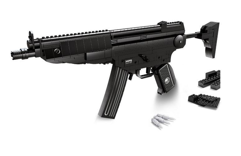 Ausini 22705 Bras série MP5 mitraillette Modèle Blocs de Construction Classique enfants Jouets Legoing